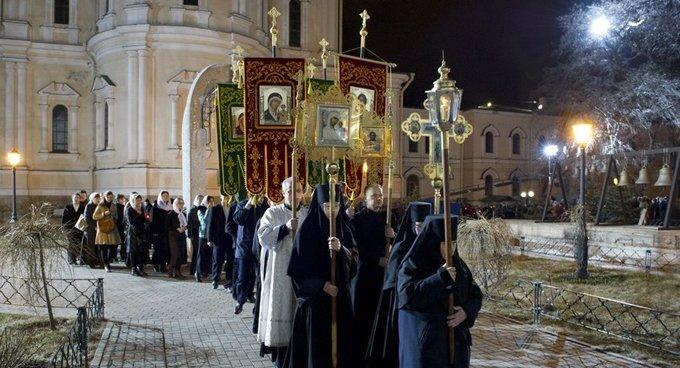 Начинается празднование Пасхи Христовой