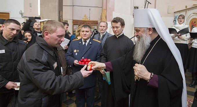 В «Крестах» впервые прошел пасхальный фестиваль для заключенных