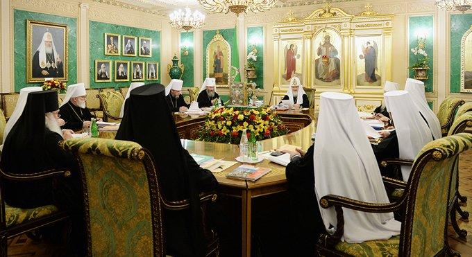 На Священном Синоде обсудят созыв Архиерейского Собора в 2016 году