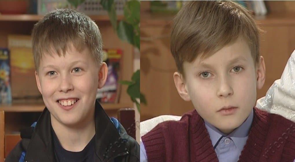 Два брата - Илья и Витя ищут папу и маму