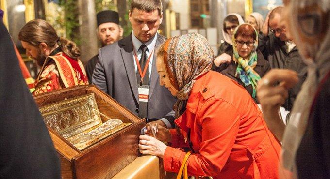 Мощам святого Георгия Победоносца поклонились уже 700 тысяч россиян