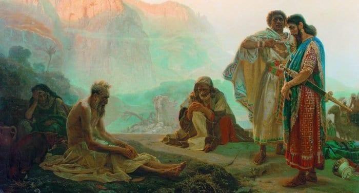 Иов: вопрошающий Бога. Почему Бог так странно отвечает праведникам?