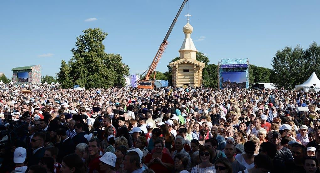 В Москве проходят торжества в честь святого князя Владимира