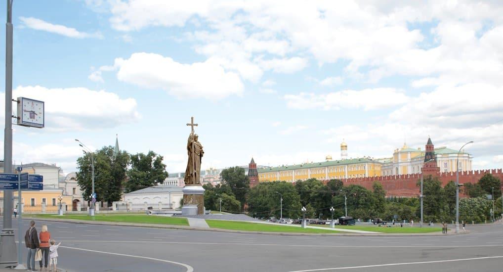 ЮНЕСКО согласовало работы по установке в Москве памятника князю Владимиру