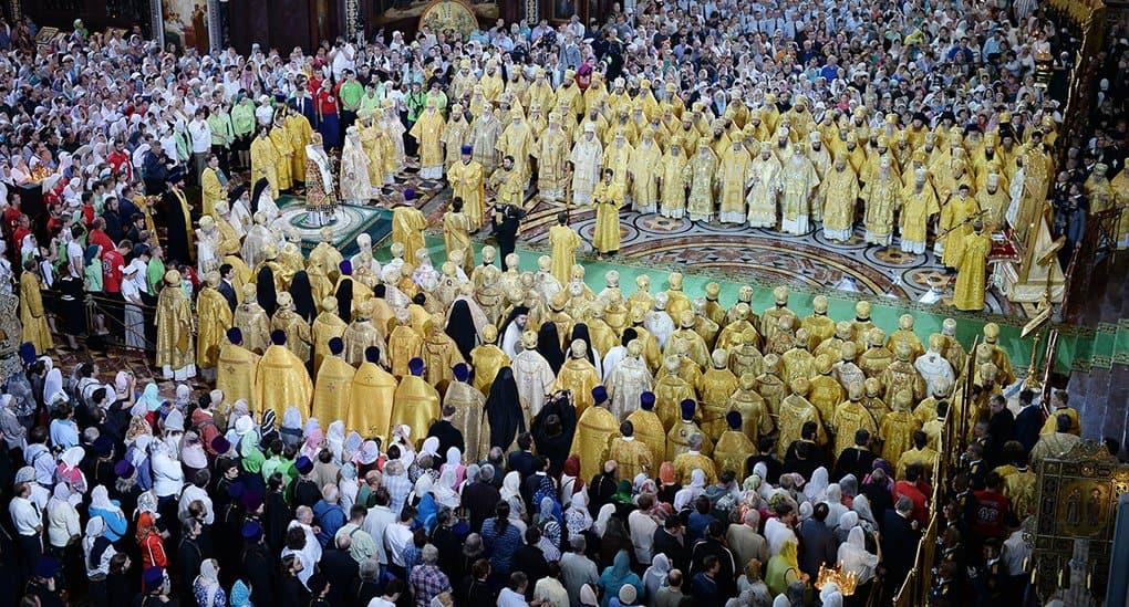 Патриарх Кирилл возглавил торжества в честь святого князя Владимира