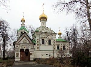 Храм при детской больнице святого Владимира