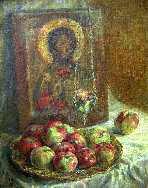 Полина Балашова «Яблочный спас»