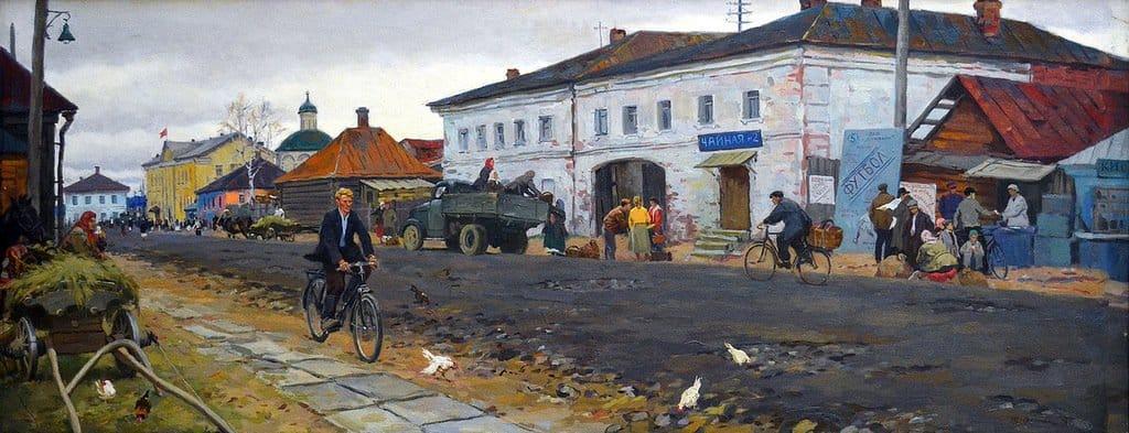 Суровый стиль Петра Оссовского