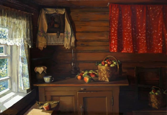Чайников Григорий Леонтьевич «Яблочный Спас»
