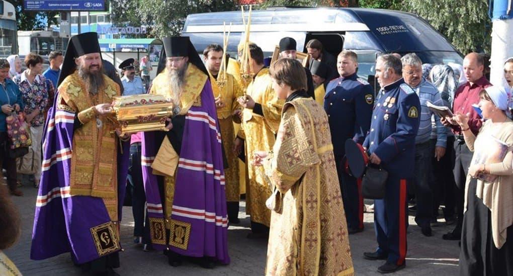 Мощи святого князя Владимира принесли в Чувашию