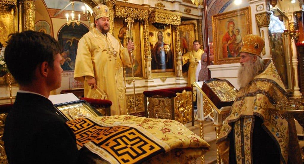 Впервые после революции священника наградили военным Георгиевским облачением