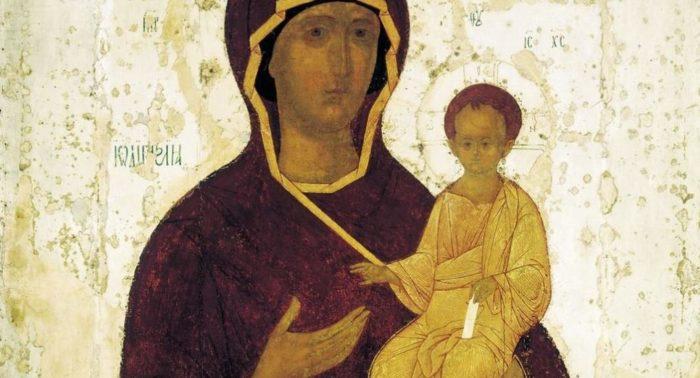 Смоленская икона Божией Матери. История образа