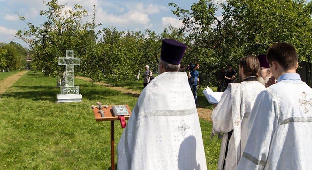 На Бутовском полигоне заложили «Сад памяти» жертв репрессий