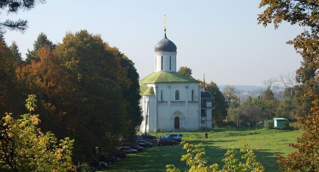 В храме Звенигорода нашли фрески, возможно, кисти Андрея Рублева