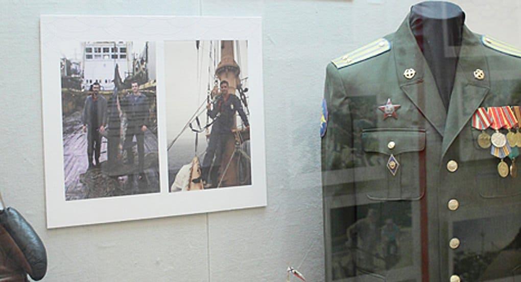 Боевая награда священника представлена на выставке в Хабаровске