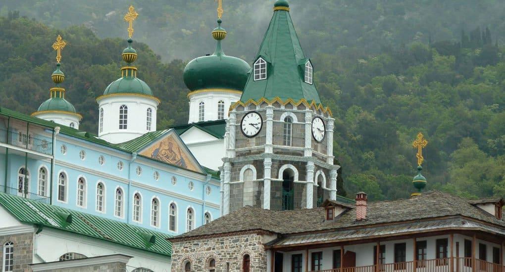 Русский Свято-Пантелеимонов монастырь на Афоне