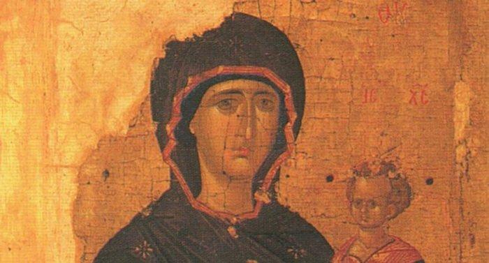 Смоленская икона Божией Матери. Иконография