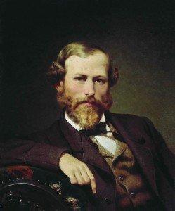 25. Бронников В. А. Портрет художника К. Д. Флавицкого. 1866 (1)