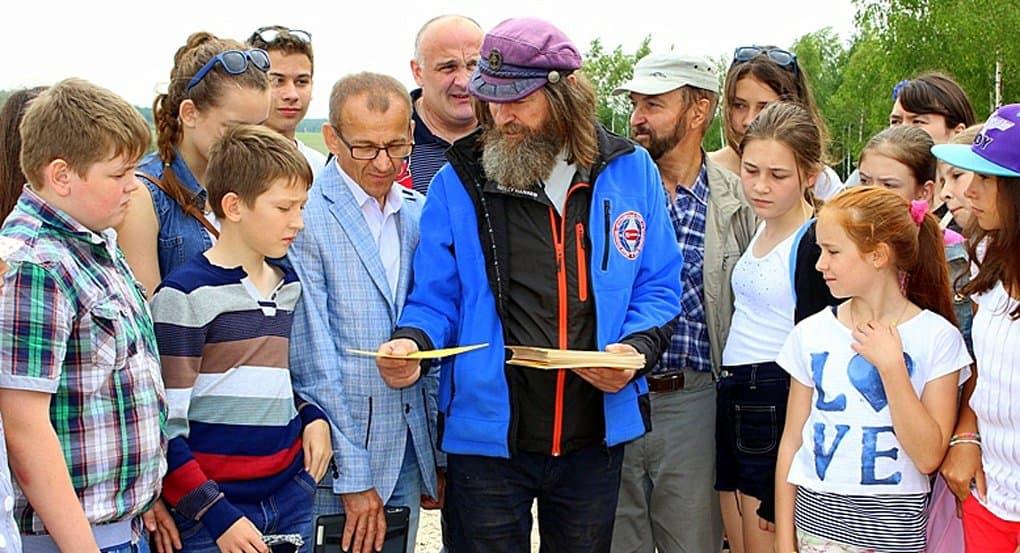 Изучить географию школьникам помогут книги отца Федора Конюхова