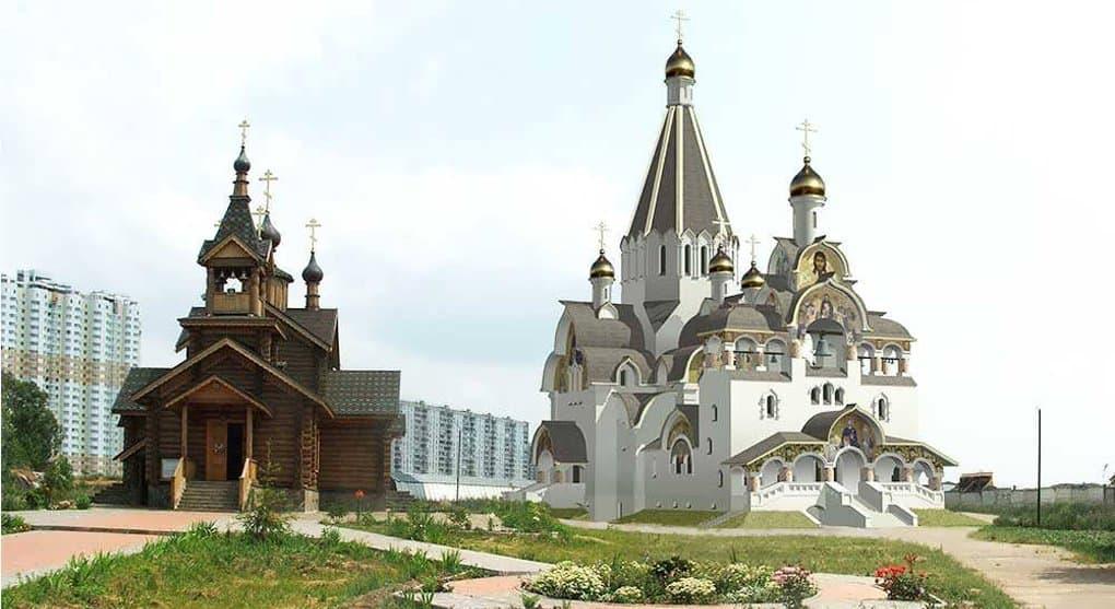 В 2018 году сдадут самый высокий храм северо-запада Москвы
