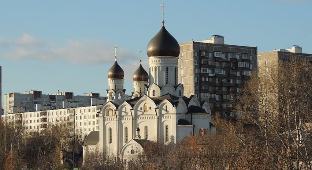 Один из крупнейших новых храмов Москвы сдадут в 2016 году