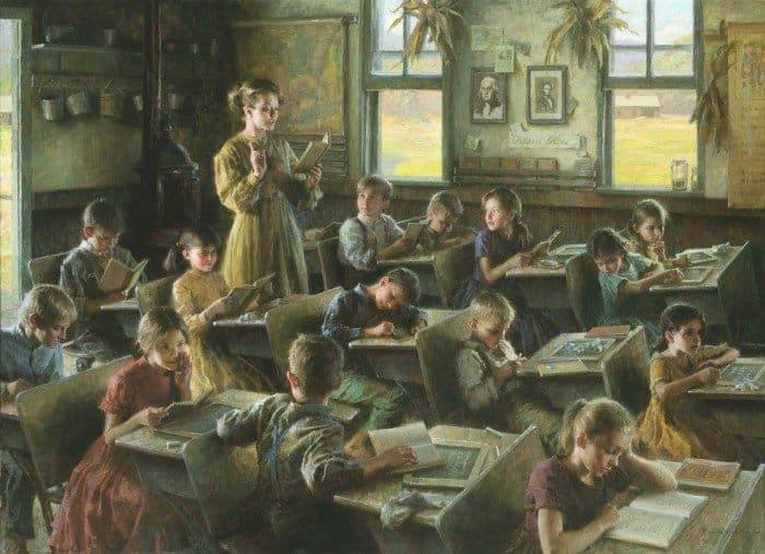 Morgan Weistling. Country Schoolhouse, 1879