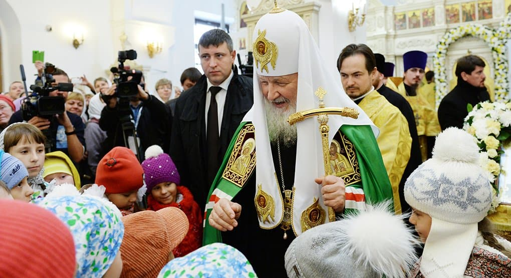 В стране наступила эпоха, когда надо сеять добро, - патриарх Кирилл