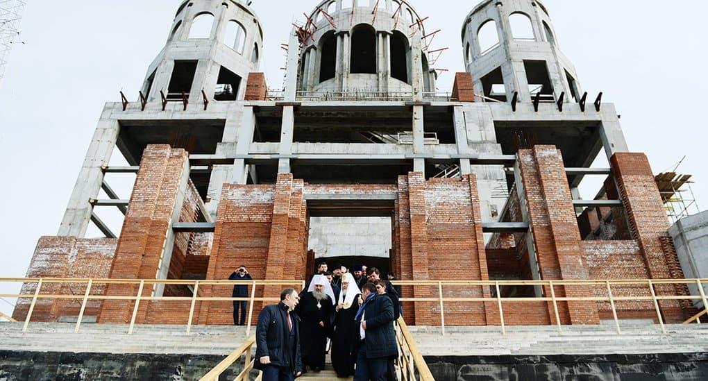 Строительство храмов связано с культурным просвещением, - патриарх Кирилл