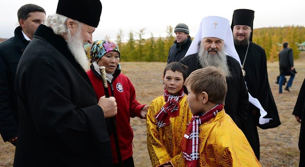 Патриарх Кирилл пожелал жителям Ямала хранить чистоту православия
