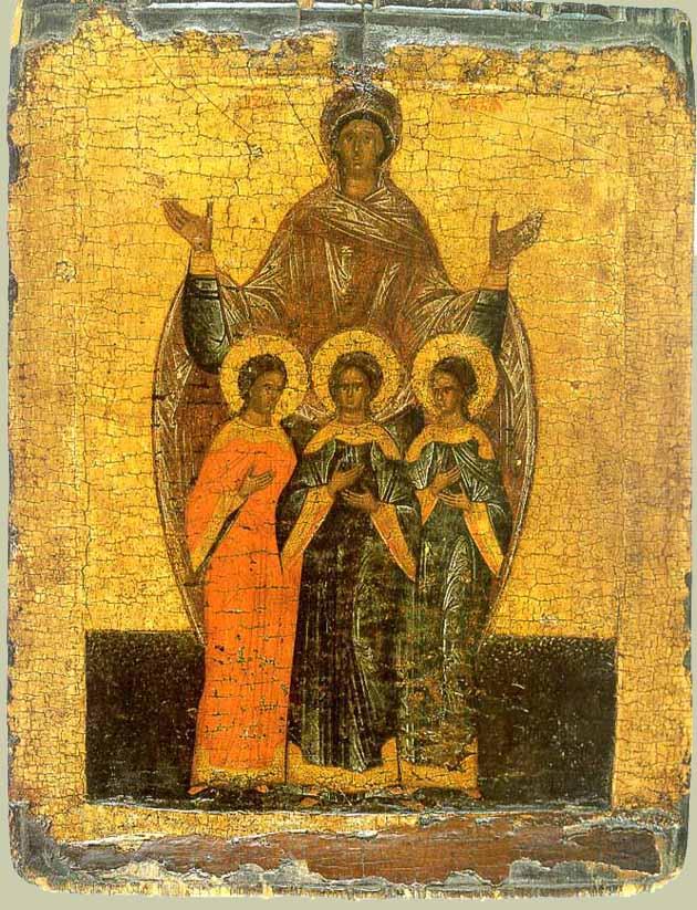 Акафист Вере, Надежде, Любови и матери их Софии