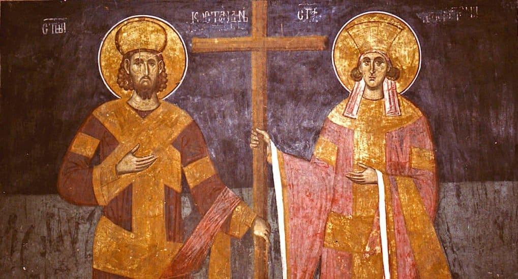 Церковь празднует Обретение Креста Господня и гвоздей святой царицей Еленой