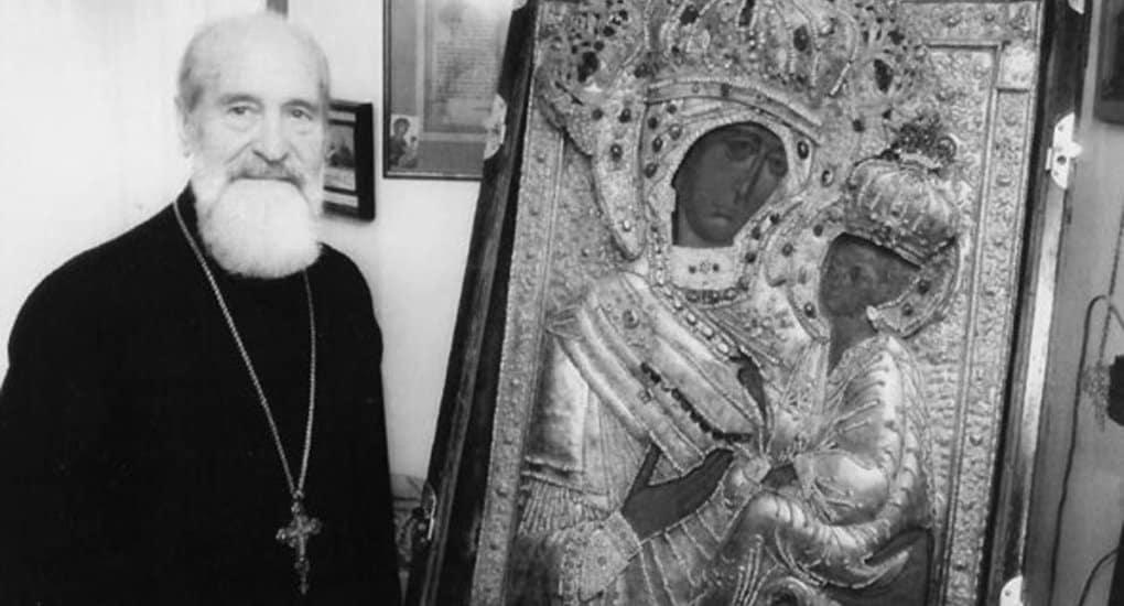 Отошел ко Господу протоиерей Сергий Гарклавс – последний хранитель Тихвинской иконы