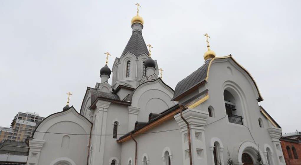 Завершен первый храмовый комплекс Москвы из «Программы 200»