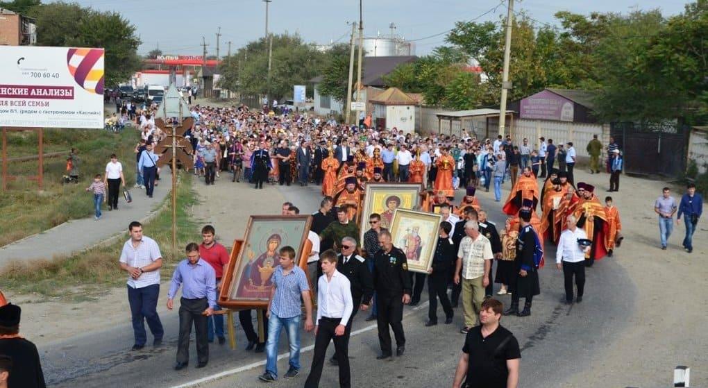 Впервые в новейшей истории в Дагестане прошли крестным ходом