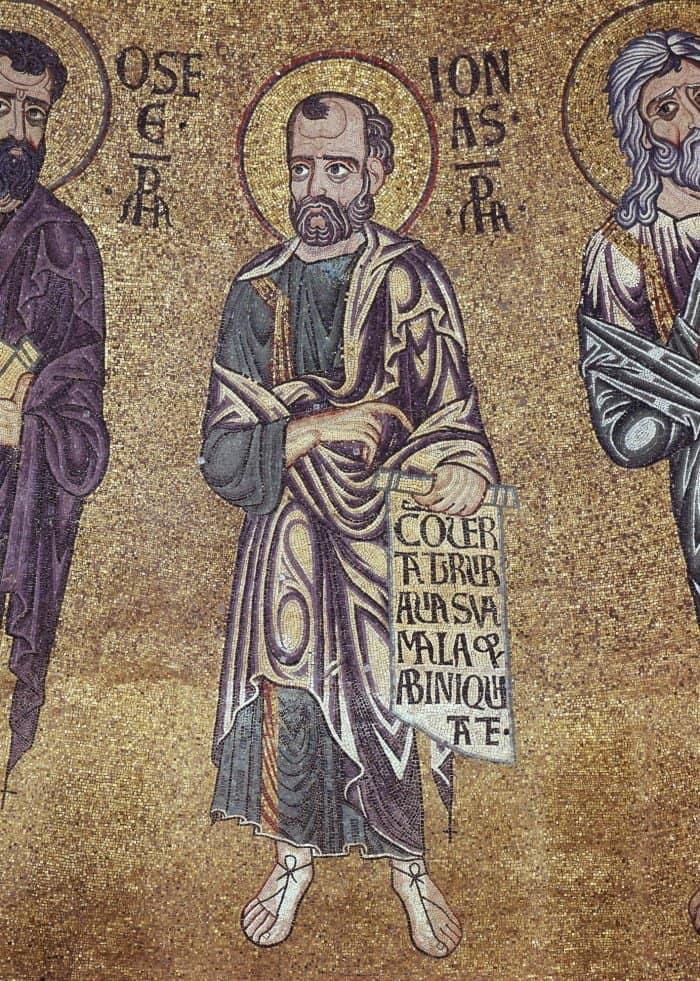 Пророк Иона. Купол пресбитерия. Центральный неф. Италия. Венеция. Собор Святого Марка. XII в.