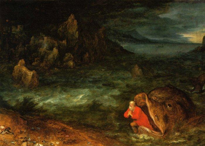 Jonah and the Whale Jan Brueghel the Elder, 1887