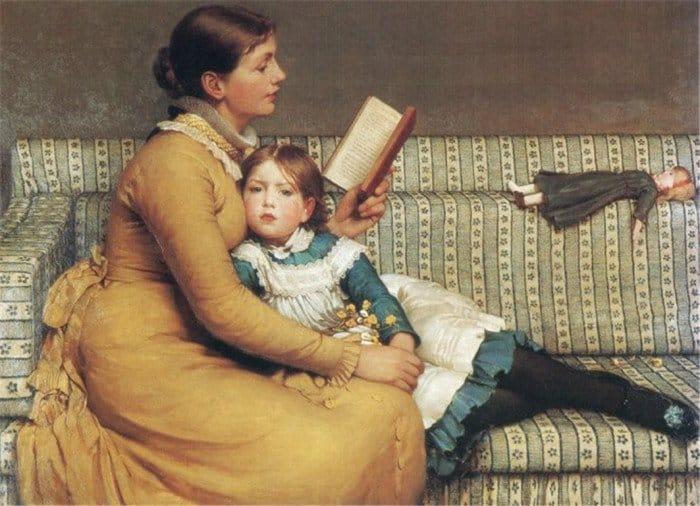 Открытки ко дню матери: John Dunlop Leslie