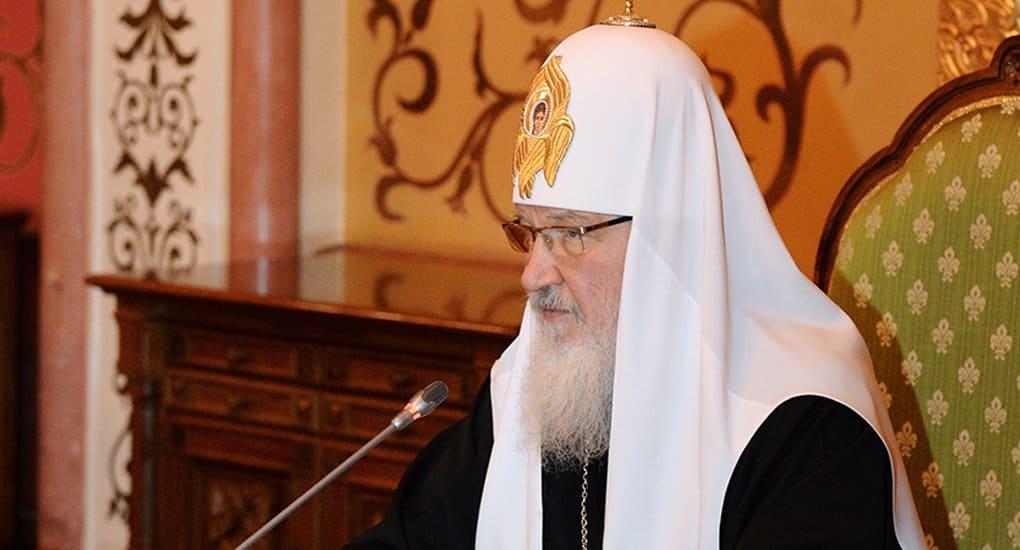 В стране Пушкина недопустим низкий уровень знания родного языка, - патриарх Кирилл