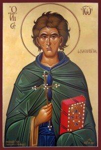Ο Άγιος Ιωάννης ο Καλυβίτης, Saint John, Сент-Джон