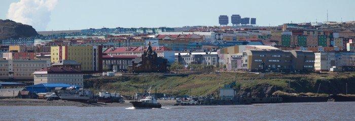 Панорама Анадыря Аныдырский лиманIMG_1061 Panorama