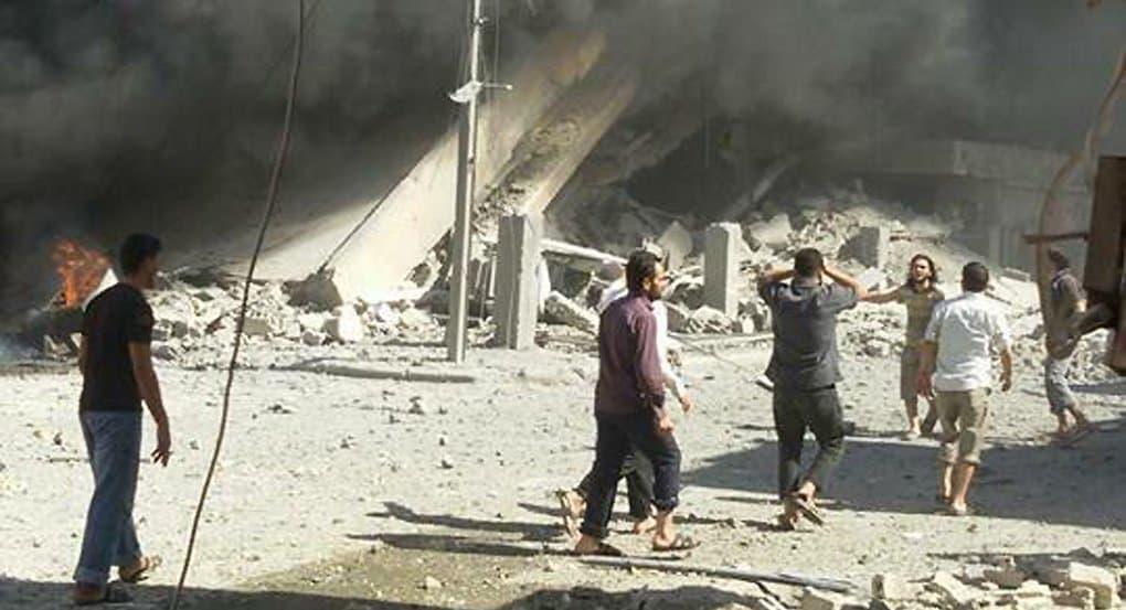 Боевики устроили взрывы в христианском городе Телль-Тамер в Сирии