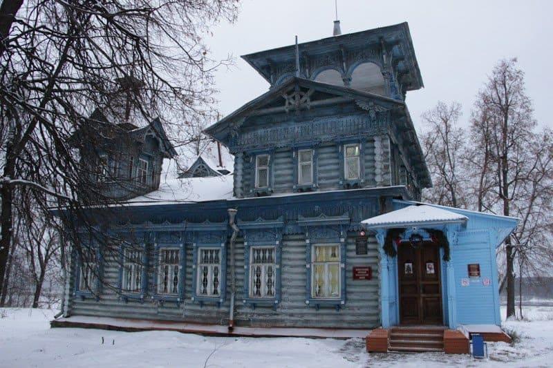 Воскресенский краеведческий музей. Именно здесь ведётся работа по возрождению вертепа в Воскресенском районе.