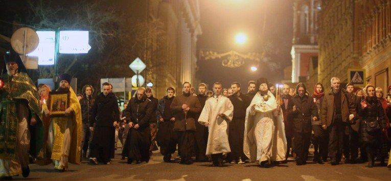 Первый крестный ход нового года пройдет в Москве 3 января