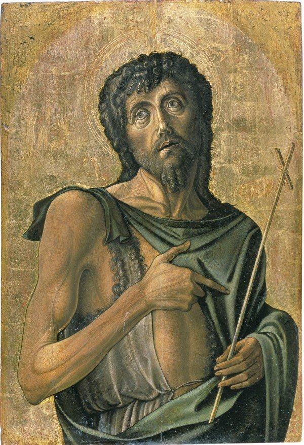 Альвизе Виварини. Святой Иоанн Креститель. Ок 1475