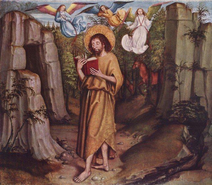 Бернский мастер гвоздики. Иоанн Креститель в пустыне