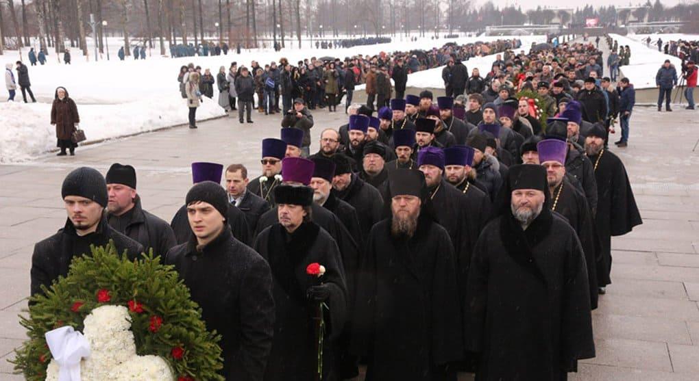 В Петербурге почтили память жертв блокады Ленинграда