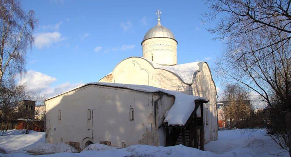 В Новгороде отремонтировали церковь XVI века, охраняемую ЮНЕСКО