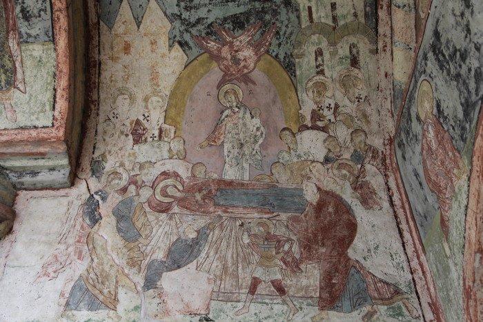 Фреска Кирилло-Белозерского монастыря. XVII в.