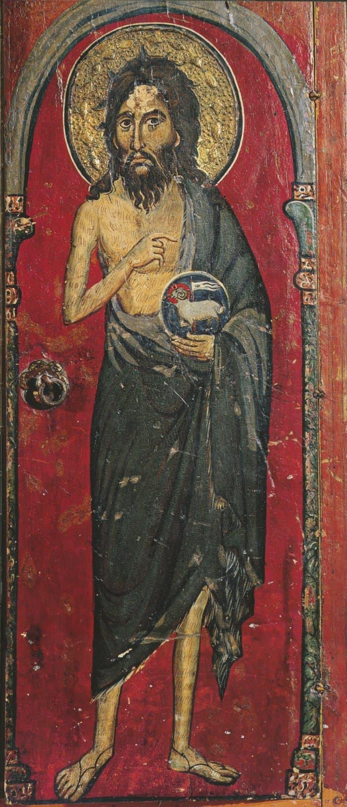 Иоанн Креститель. Византия. XIII в. Египет. Синай, монастырь св. Екатерины