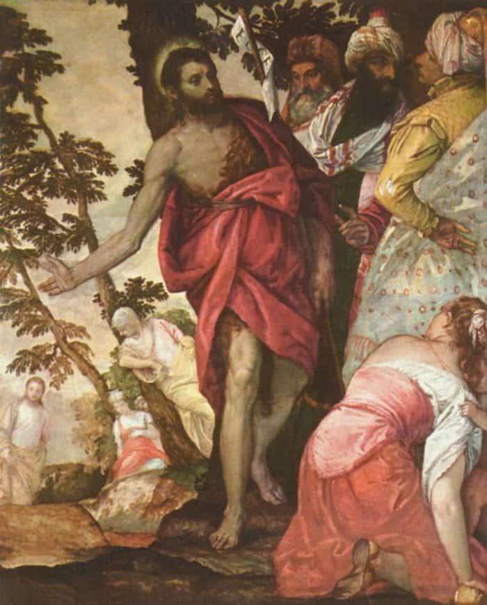 Паоло Веронезе. Проповедь Иоанна Крестителя
